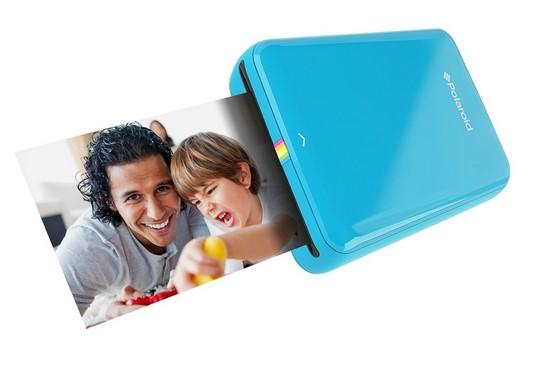 Polaroid Zip Sofortbilddrucker blau für Handy iOS und Android