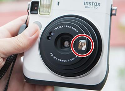 Fujifilm Instax Mini 70 Selfie Modus - Spiegel
