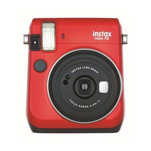 Fujifilm Instax Mini 70 Kamera (inkl. Batterien und Trageschlaufe) Sofortbildkamera weiß - Polaroid