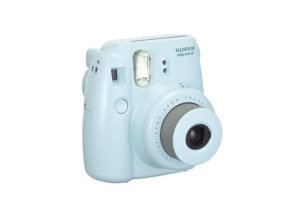 Fujifilm Instax Mini 8 hellblau Seitenansicht
