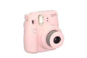 Fujifilm Instax Mini 8 rosa Seitenansicht