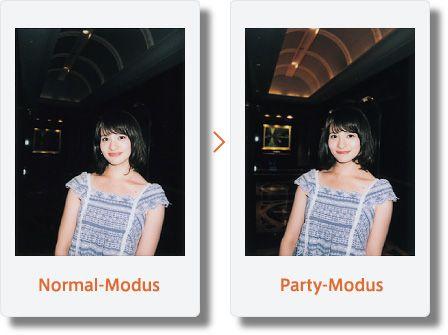 Fujifilm Instax Mini 90 Neo Partymodus - Test