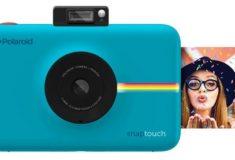 Polaroid Snap digitale Sofortbildkamera blau mit Sofortbild