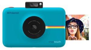 Polaroid Snap Touch digitale Sofortbildkamera blau mit Polaroid Bild