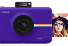 Polaroid Snap digitale Sofortbildkamera lila mit Sofortbild