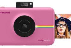 Polaroid Snap digitale Sofortbildkamera rosa mit Sofortbild