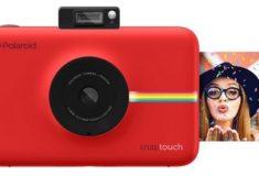 Polaroid Snap digitale Sofortbildkamera rot mit Sofortbild