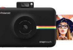 Polaroid Snap digitale Sofortbildkamera schwarz mit Sofortbild