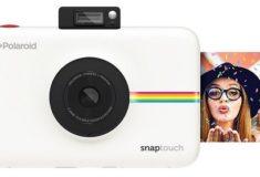 Polaroid Snap digitale Sofortbildkamera weiß mit Sofortbild