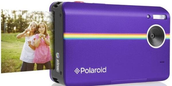 Polaroid Z2300 10MP digitale Sofortbildkamera lila vorne-seitlich-verkleinert