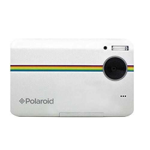 Polaroid Z2300 10MP digitale Sofortbildkamera weiß seitenansicht