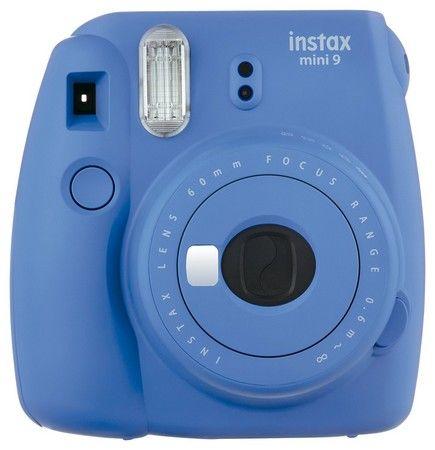 Fujifilm Instax Mini 9 Kamera Test - Farbe - cobalt blau