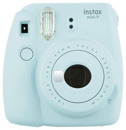 Fujifilm Instax Mini 9 Kamera Test blau