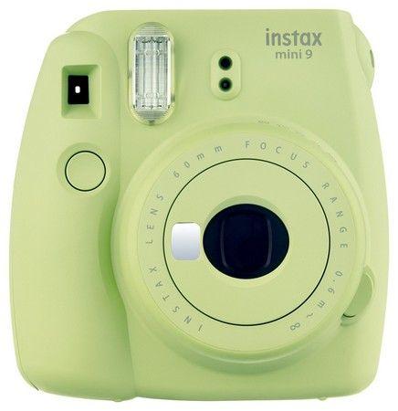 Fujifilm Instax Mini 9 Kamera Test lime grün