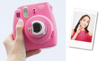 Fujifilm Instax Mini 9 Selfie rosa