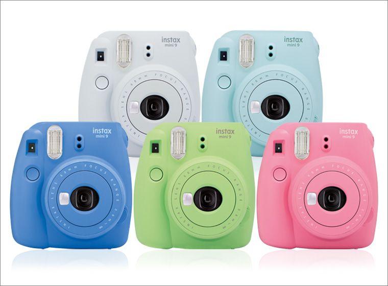 Fujifilm Instax Mini 9 - Update Instax Mni 8 - fünf neue Farben