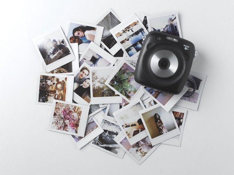 Fujifilm SQ10 Instax Polaroid Kamera