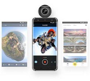 Insta 360 Air Überblick für Android-USB-Micro