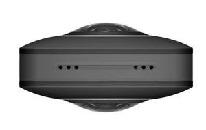 Ricoh Theta S - 360 Grad Kamera - Mikrofon und Lautsprecher