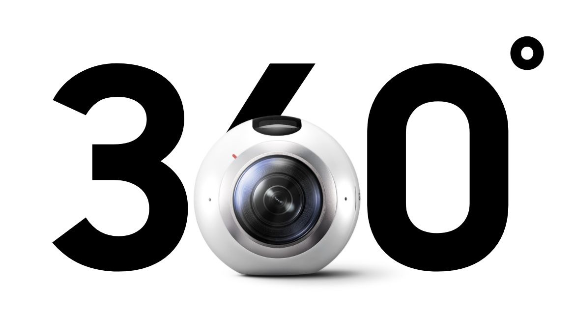 Samsung Gear 360 Grad Action Kamera