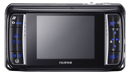 Fujifilm FinePix Real 3D Kamera mit 3D LCD Display