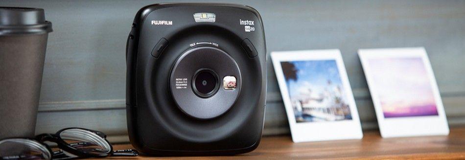 Fujifilm Instax SQ 20 Polaroid Kamera Test