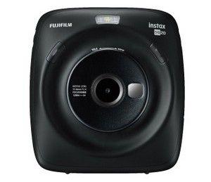 Fujifilm Instax SQUARE SQ 20 Hybride Polaroid Kamera in schwarz