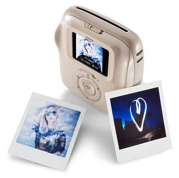 Fujifilm Instax SQUARE SQ 20 Hybride Sofortbildkamera, beige